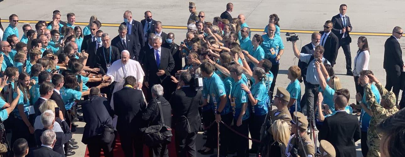 «LE CENTRE DE L'ÉGLISE? CE N'EST PAS L'ÉGLISE!»  Le pape François à Budapest et en Slovaquie