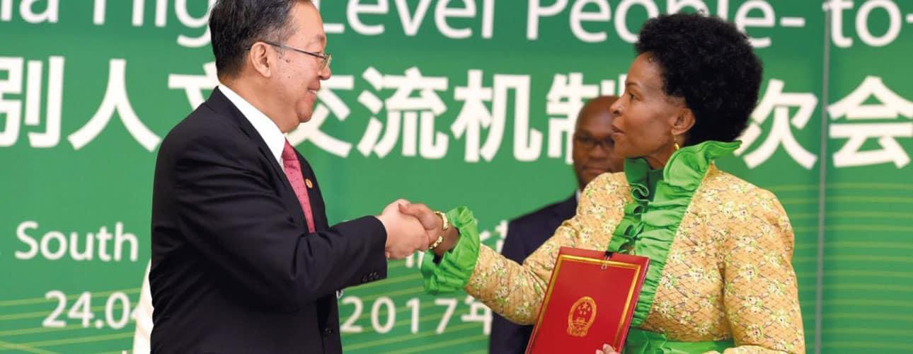 LA PRÉSENCE CHINOISE EN AFRIQUE